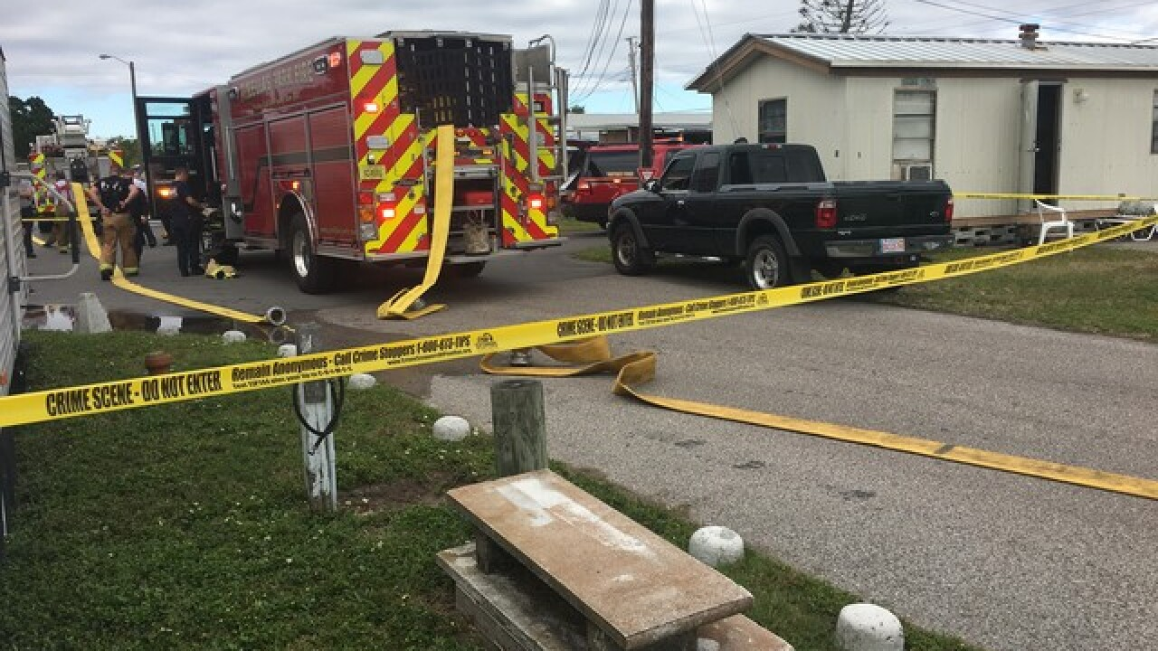 Man dead after mobile home fire in Pinellas County