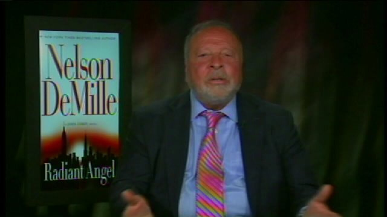 Bestselling author Nelson DeMille shares details about his latest novel, 'RadiantAngel'