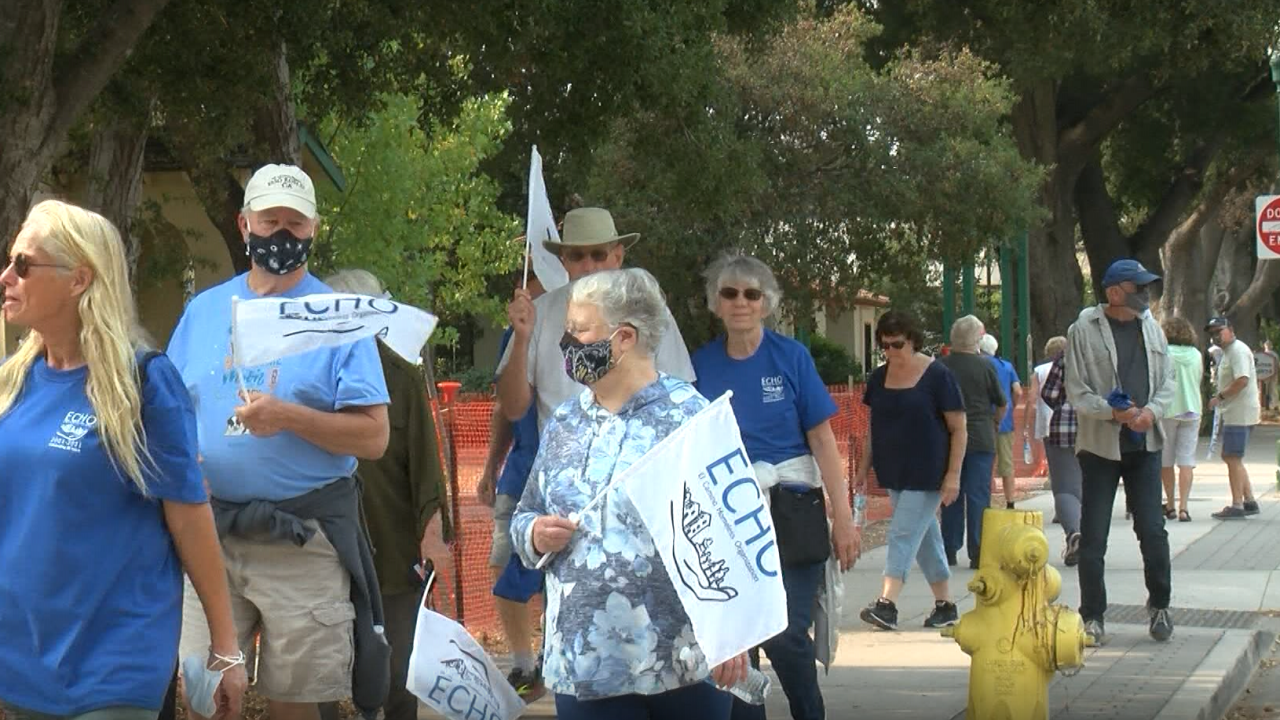 ECHO hosts 10th annual Long Walk Home to support the homeless