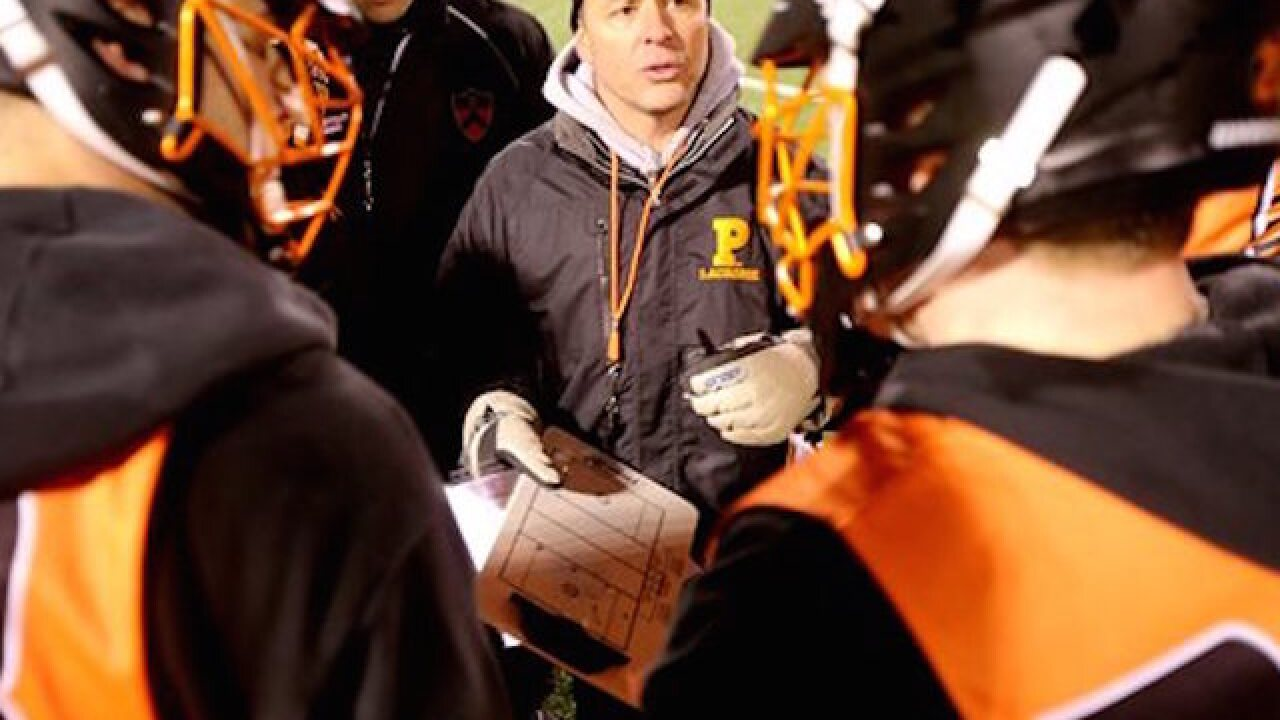 Princeton lacrosse coach fired after elbowing opposing player