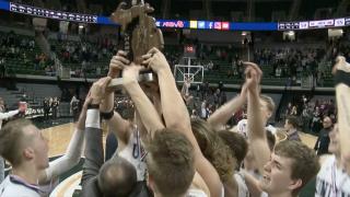 Unity Christian celebrates their state championship