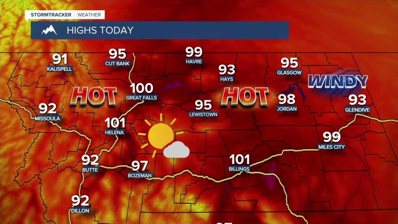 A hot start to the week!