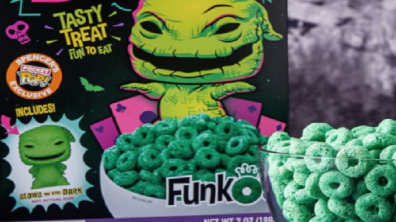 You'll Soon Be Able To Buy 'The Nightmare Before Christmas'-themed Cereal