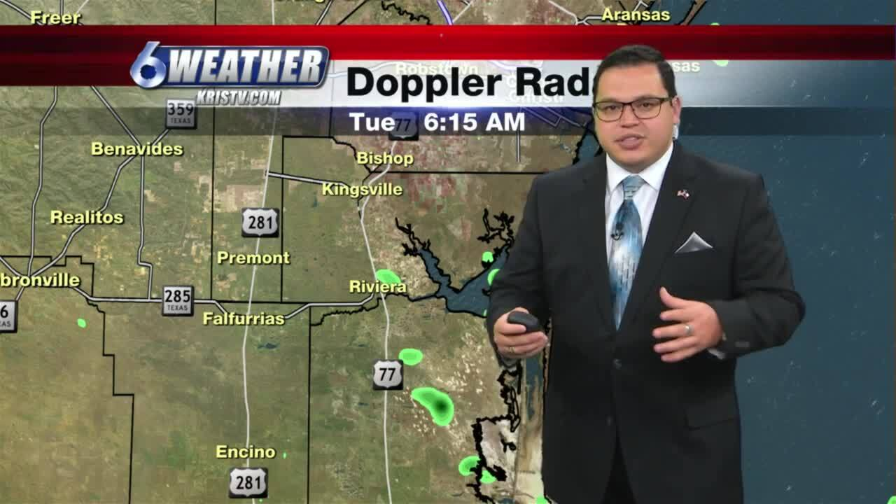 Juan Acuña's morning weather for May 25, 2021