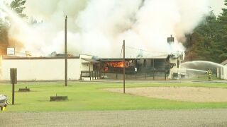 Fire in Shawano County