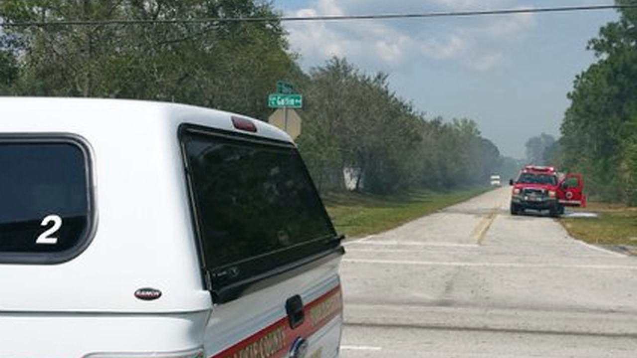 Homes evacuated due to St. Lucie Co. brush fire