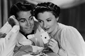 """Barbara Stanwyck and Henry Fonda star in """"The Lady Eve."""""""