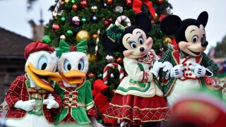 Disney Parks Frozen Christmas Celebration TV Special