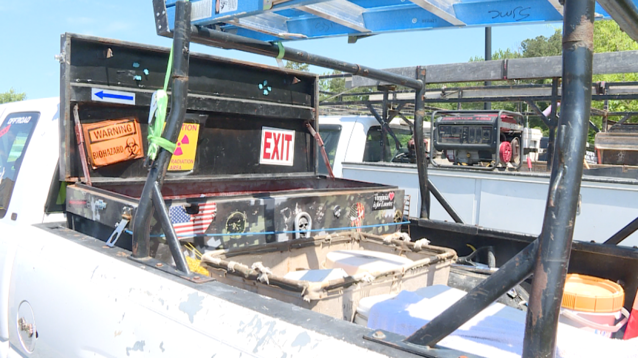 Virginia Beach construction worker's 'livelihood' stolen fromtruck