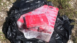 25 bricks of cocaine found in floating bale off Florida Keys