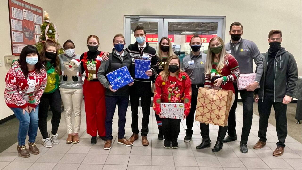 My Auto Group raises gifts for 33 children in foster care