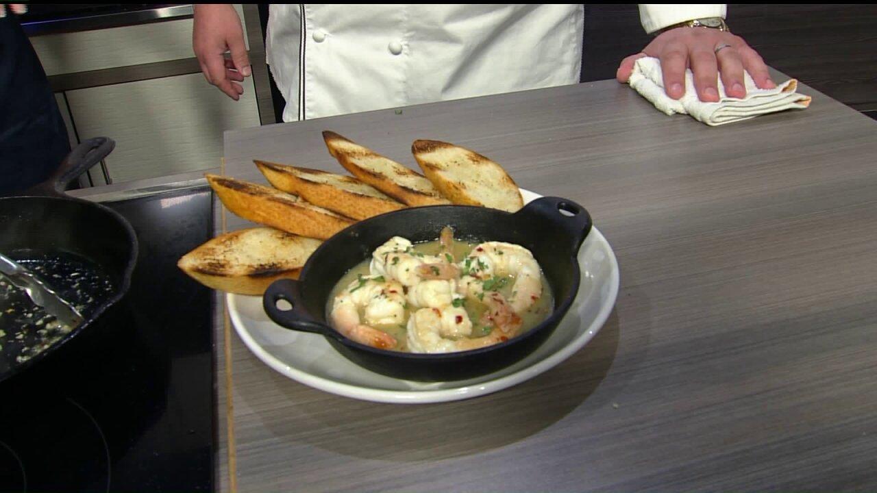 Lemon Garlic Shrimp from UptownAlley