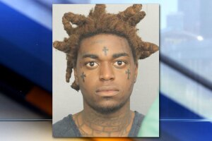 """The rapper known as """"Kodak Black"""", arrested on May 11, 2019."""
