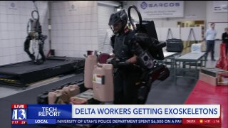 Delta getting exoskeletons from Utah company, letting users lift up to 200 lbs