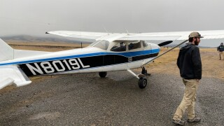 Plane makes emergency landing on Highway 12 outside East Helena