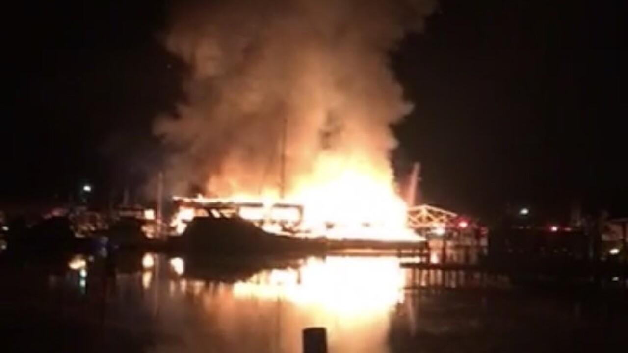 Fire engulfs Surf Rider restaurant inPoquoson