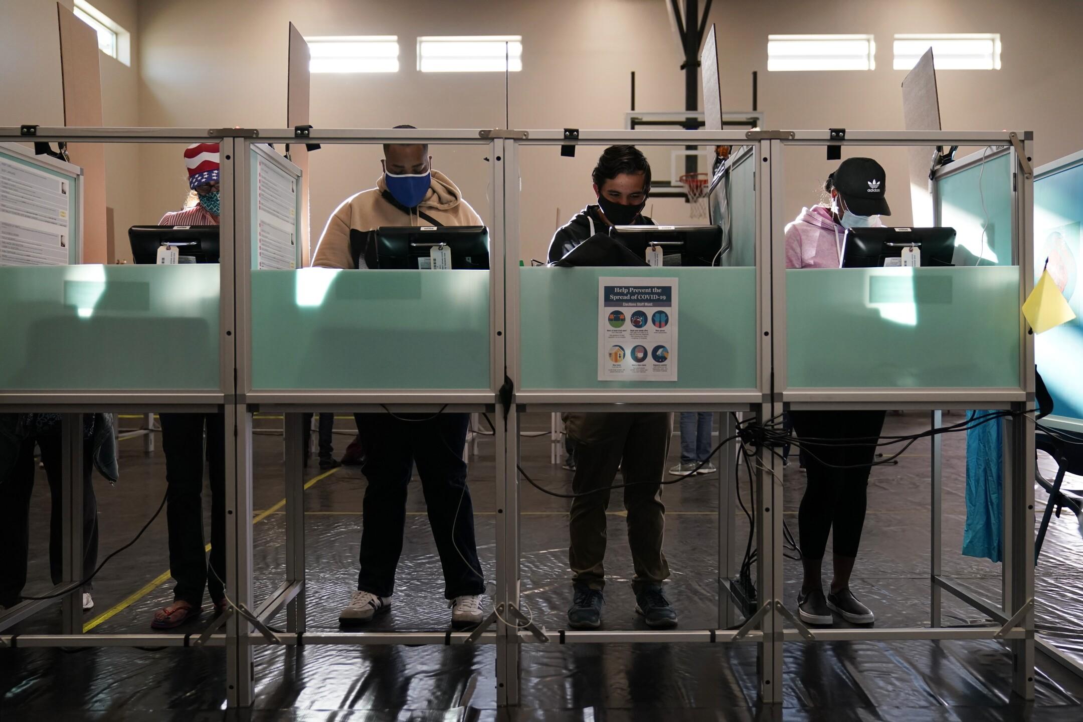 Election 2020 Nevada Voting