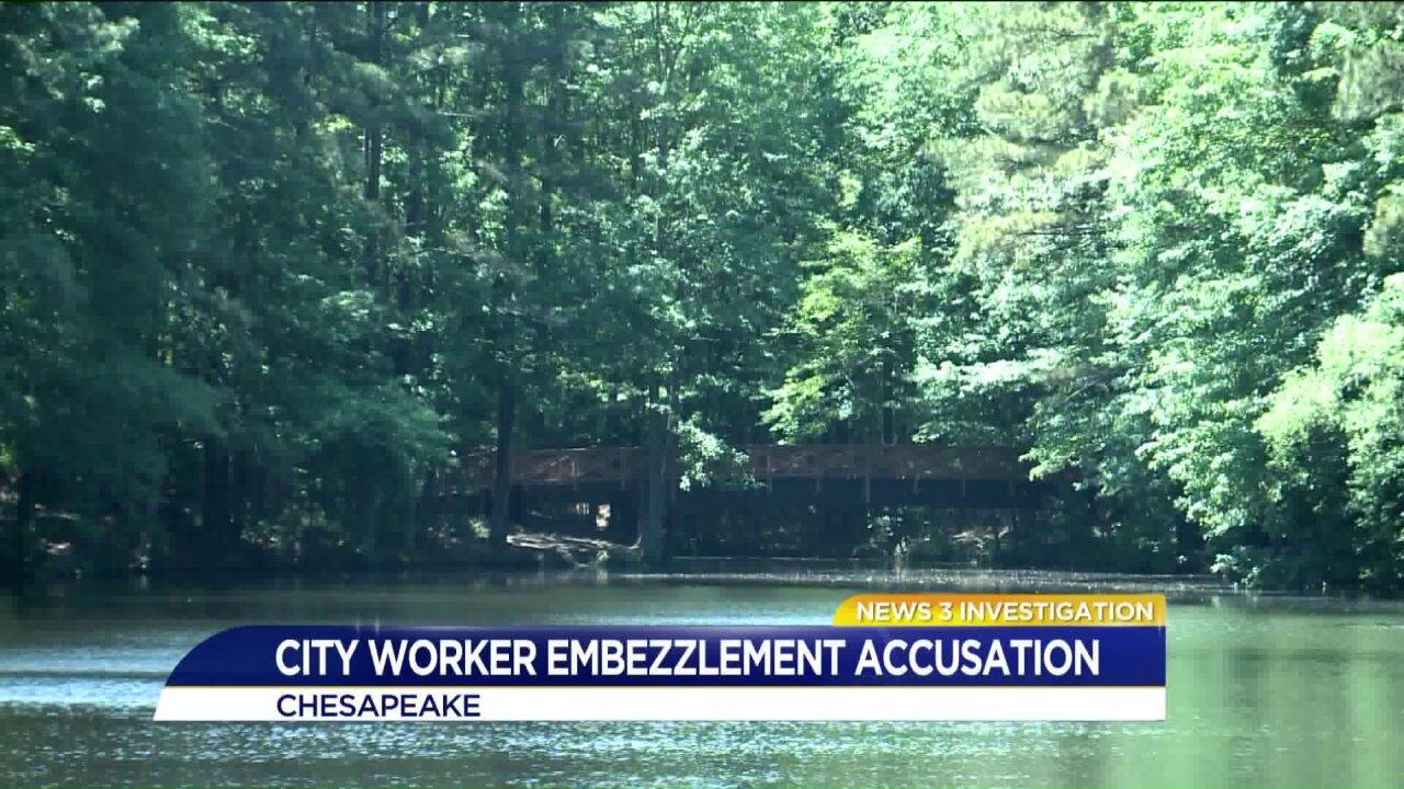 Chesapeake Parks and Rec employee under investigation forembezzlement