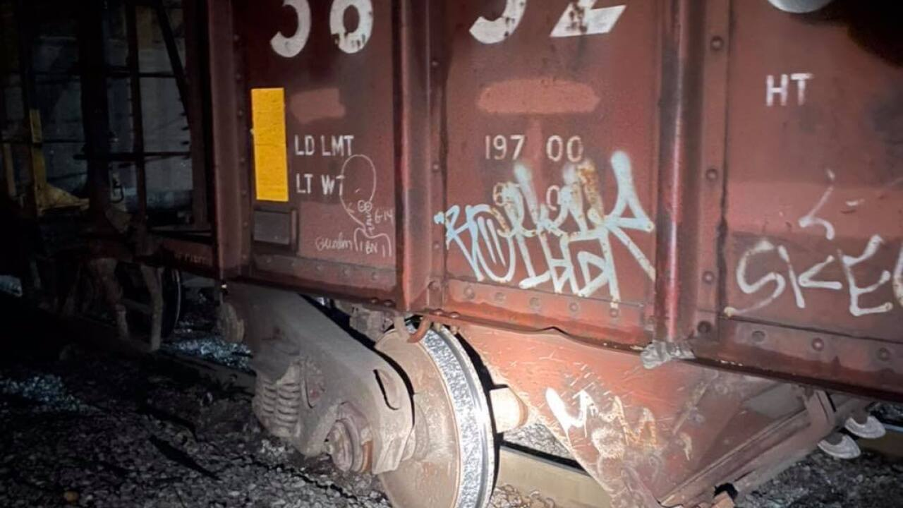 Medina train derail