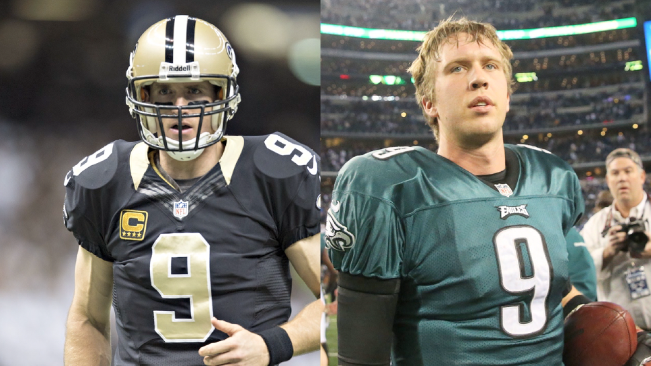 High stakes for high school hotshots Drew Brees, Nick Foles in NFC Divisional Playoff