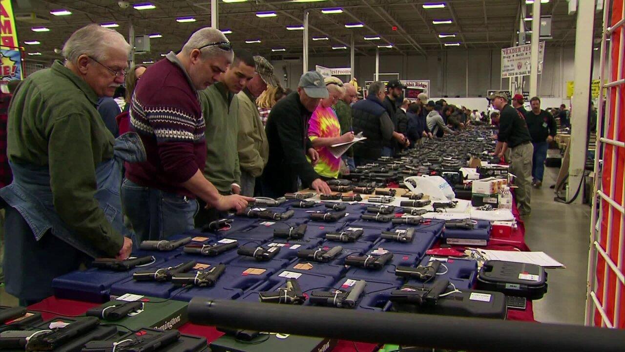 At Virginia's biggest gun show, attendees react to Obama's gun controlplan