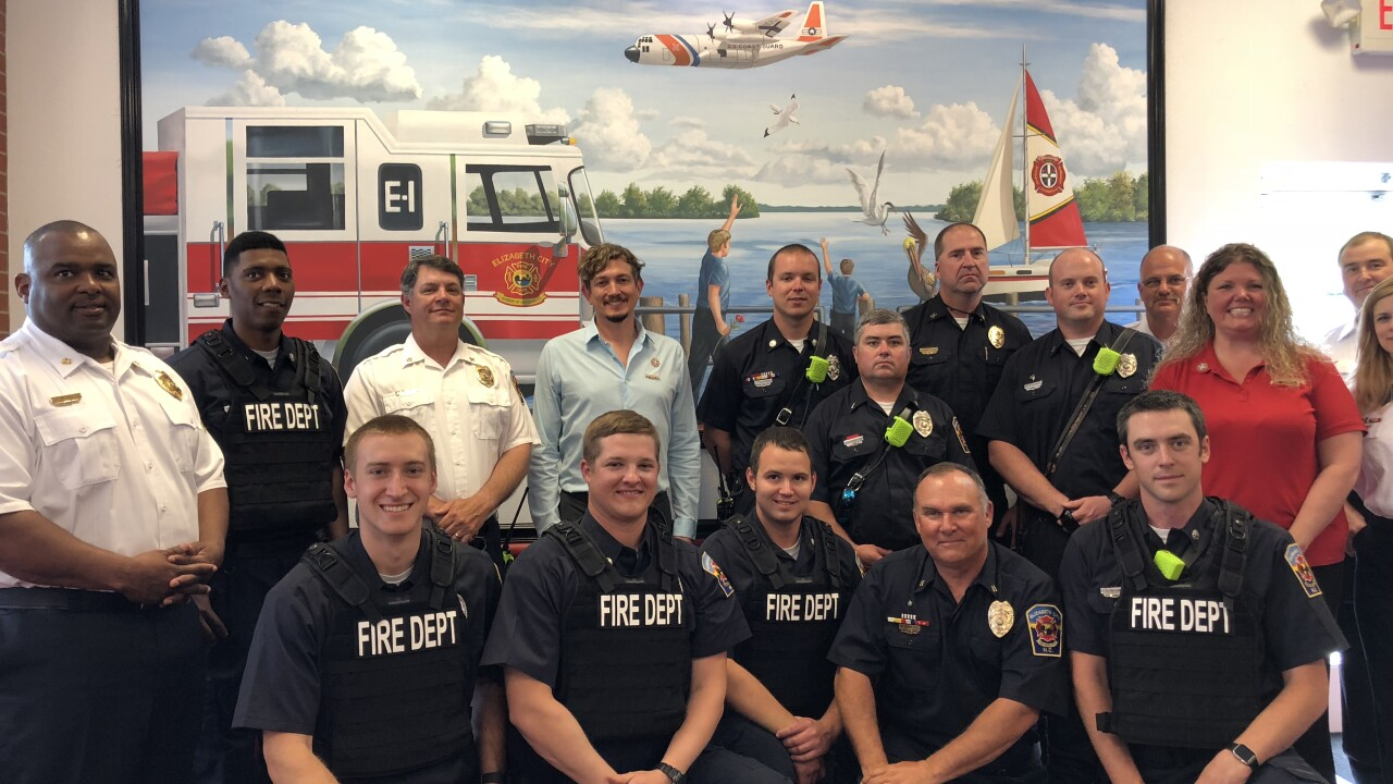 Elizabeth City first responders receive more than $20K worth of new equipment