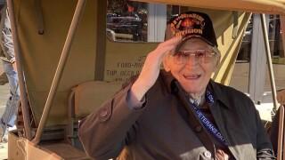 WWII veteran Donald Hamilton