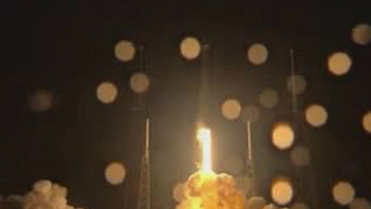 SpaceX launches rocket, satellite into orbit
