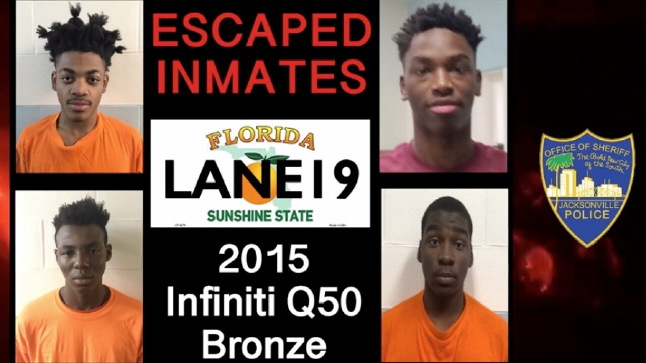 4 teen inmates staged a fight, overpowered staff and escaped, officials say