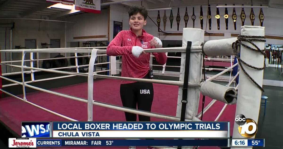 Chula Vista Boxer Heads to Olympic Trials
