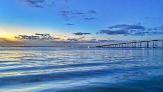 Laguna Madre Sunset - Photo By: FB Coastal Bend Weather Watcher Lu Ann Kingsbury