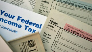 Tax Forms Taxes Getty 110105
