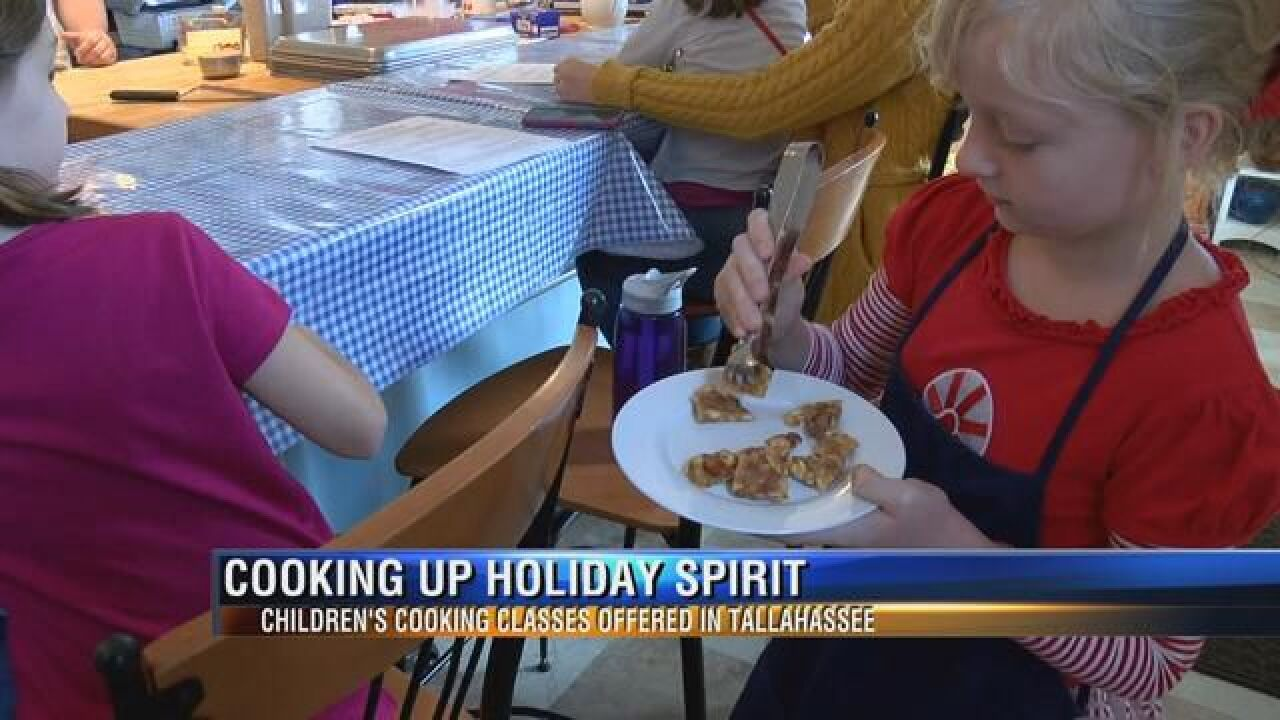 Kids Learning to Cook in the Capital City