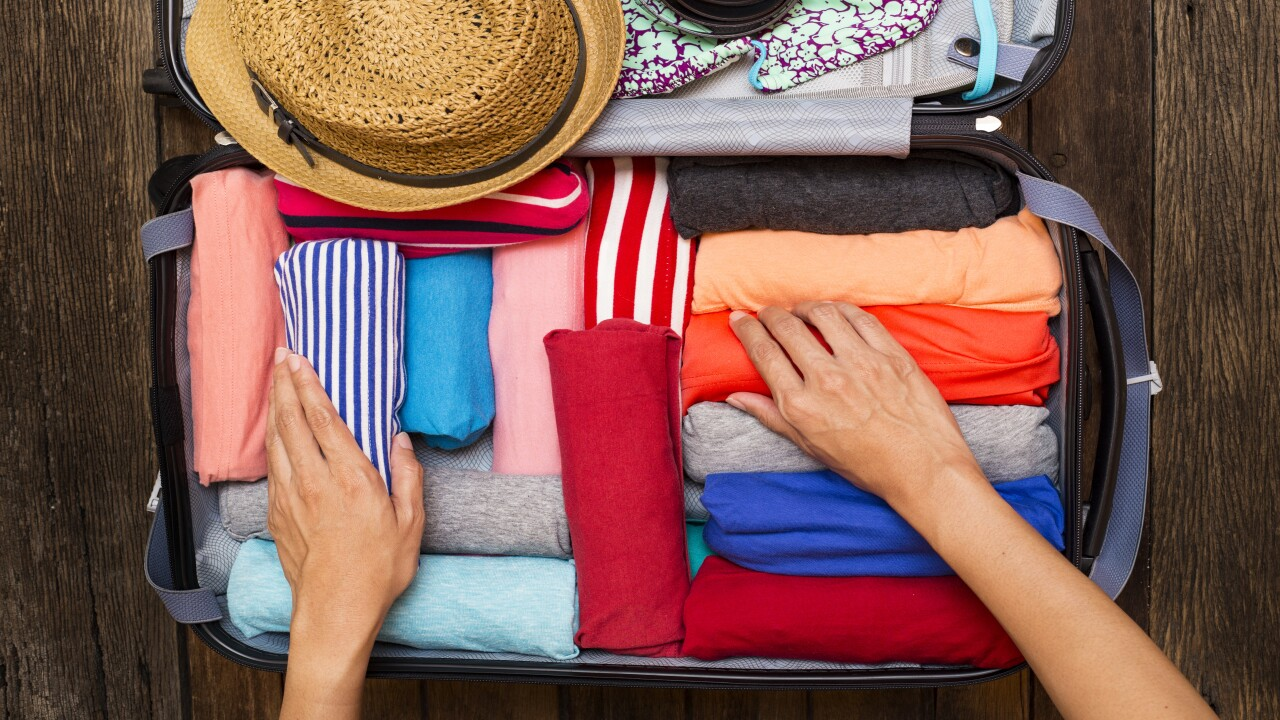 These $10 folding hangers are a must-have travel accessory
