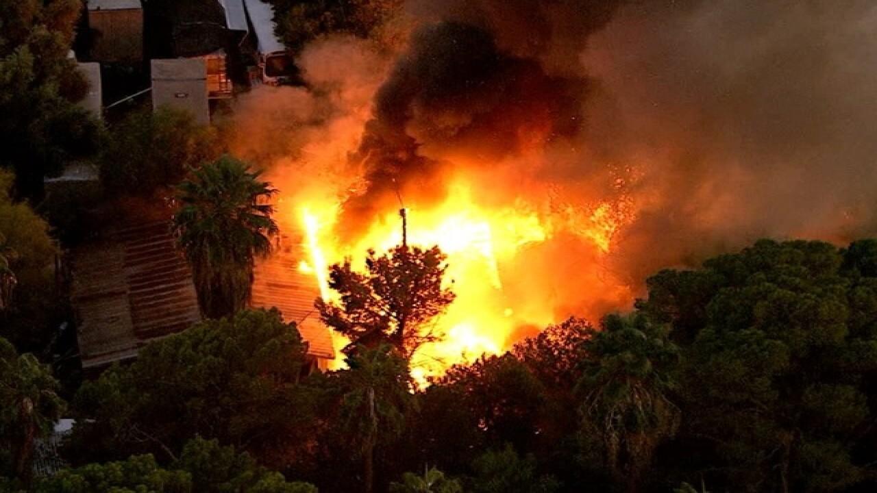 FD: Firefighters battling large blaze in PHX