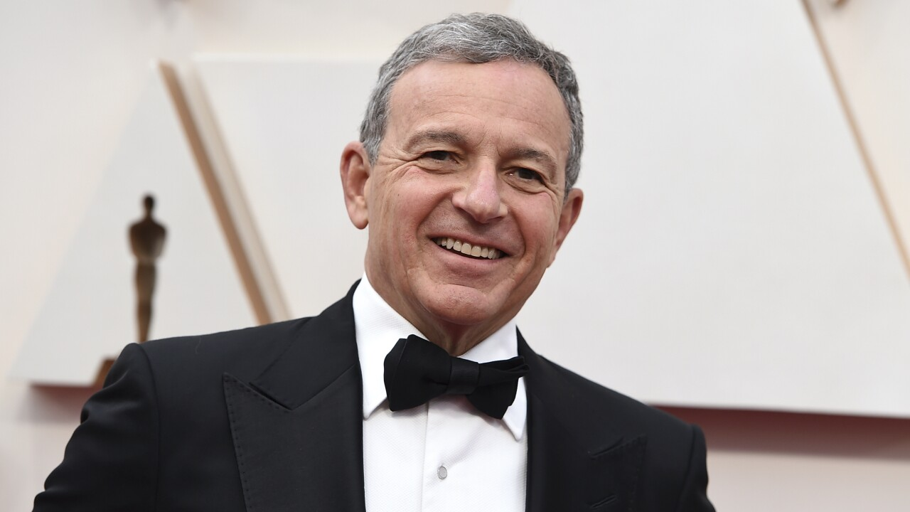 Disney CEO Bob Iger to step down effective immediately