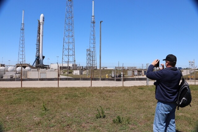 Tess launch set up at Cape Canaveral