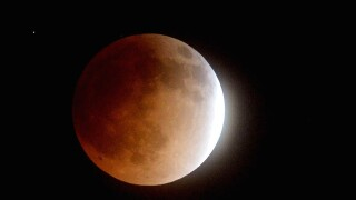 Unusual twist for Wednesday's lunar eclipse