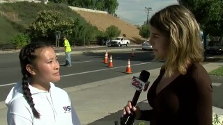 Emma Lockhart Interviews Student at High School Shooting