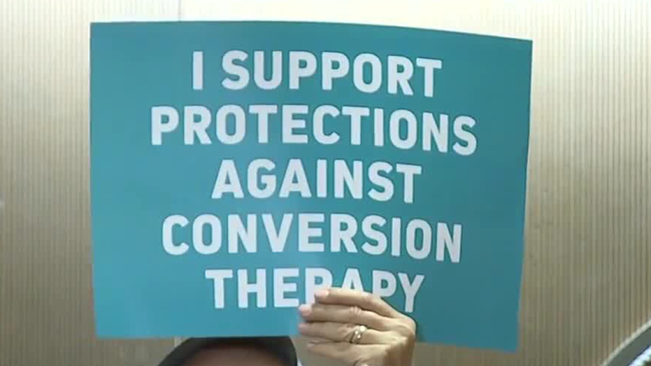 Florida lawmakers call conversion therapy 'state-sanctioned child abuse'