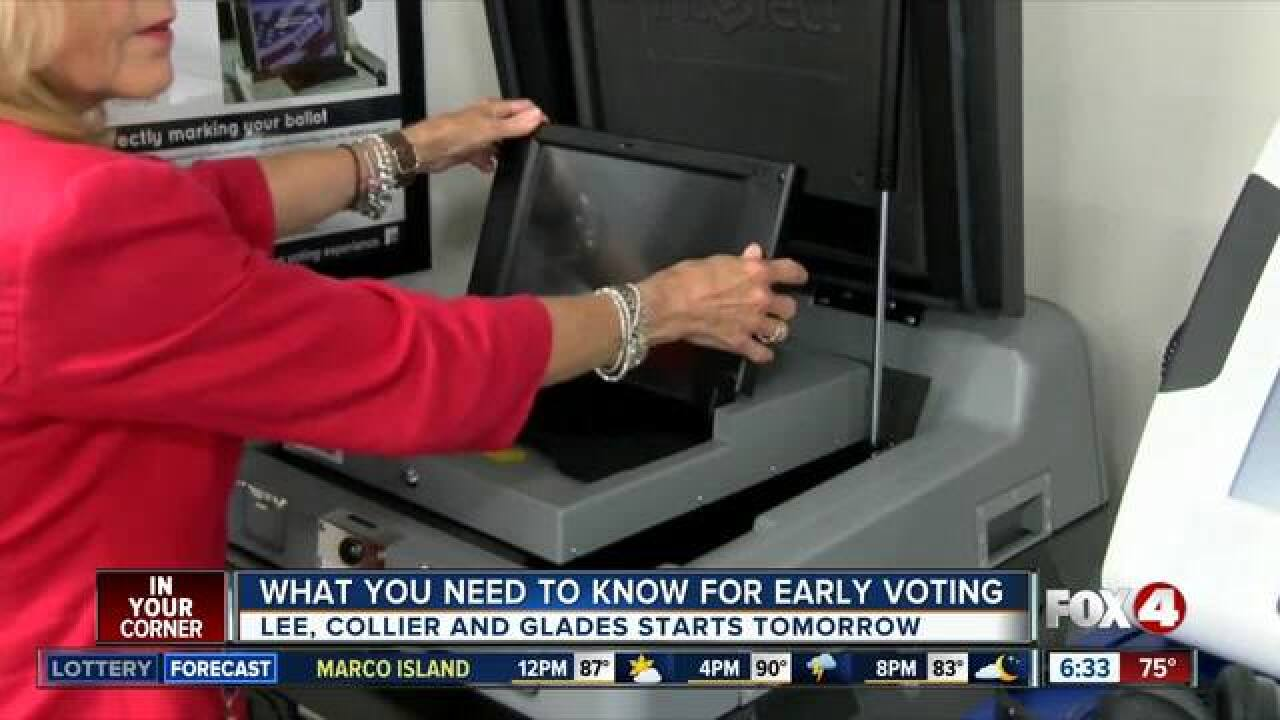 Thousands are voting early for primary election
