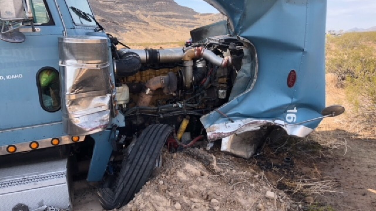 Nevada Highway Patrol releases video from US 93 crash