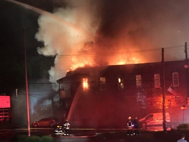 Massive fire in historic downtown Loveland