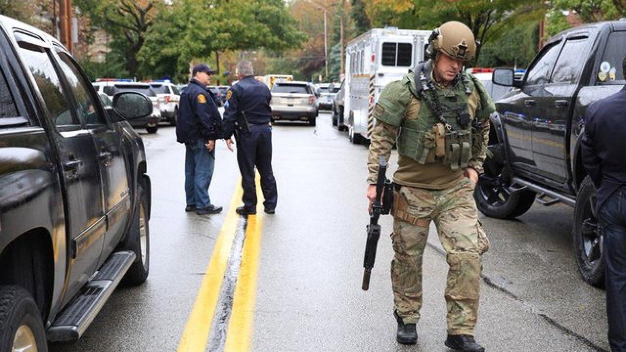 Active shooter situation at synagogue