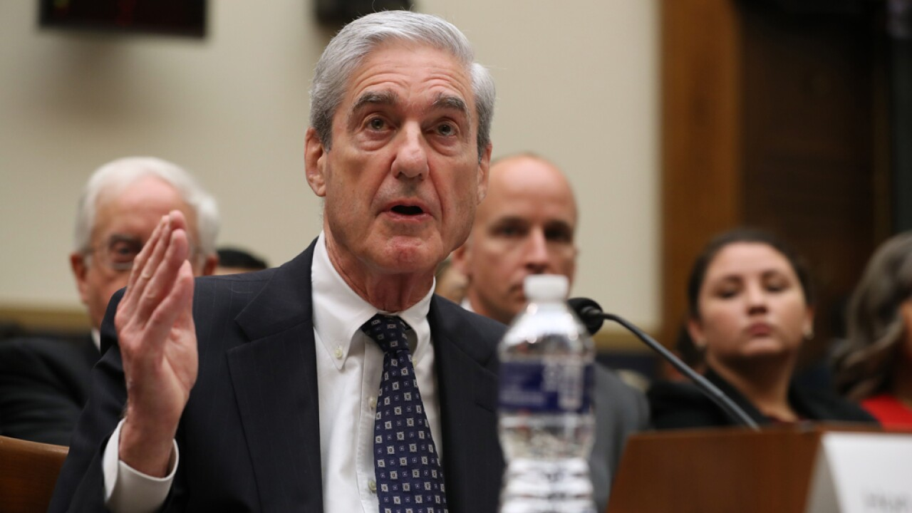 Mueller: No Russia exoneration for Trump, despite his claims