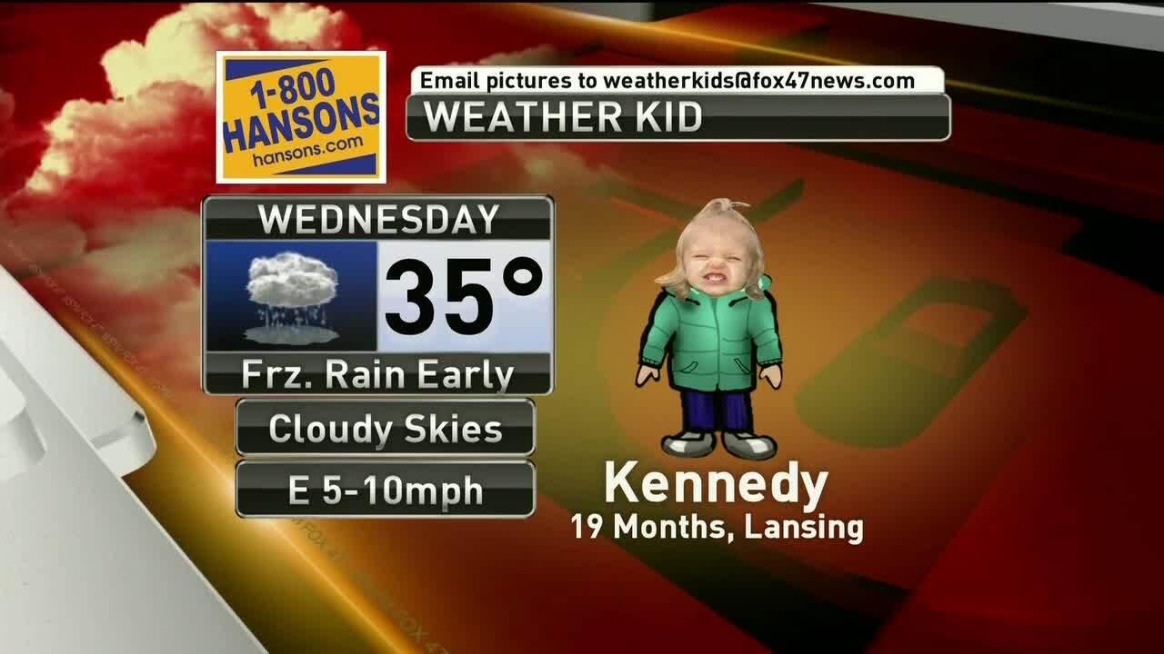Weather Kid - Kennedy - 2-6-19