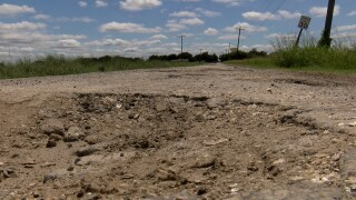 Nueces County taking bids for pothole-ridden road in Robstown