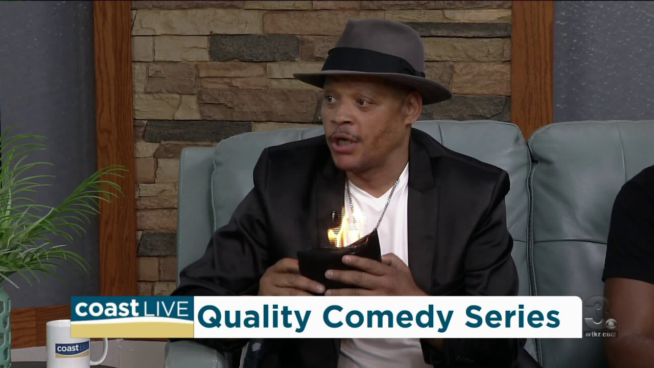 Comedy, magic and pranks with Kevin Lee and Quincy Carr on CoastLive