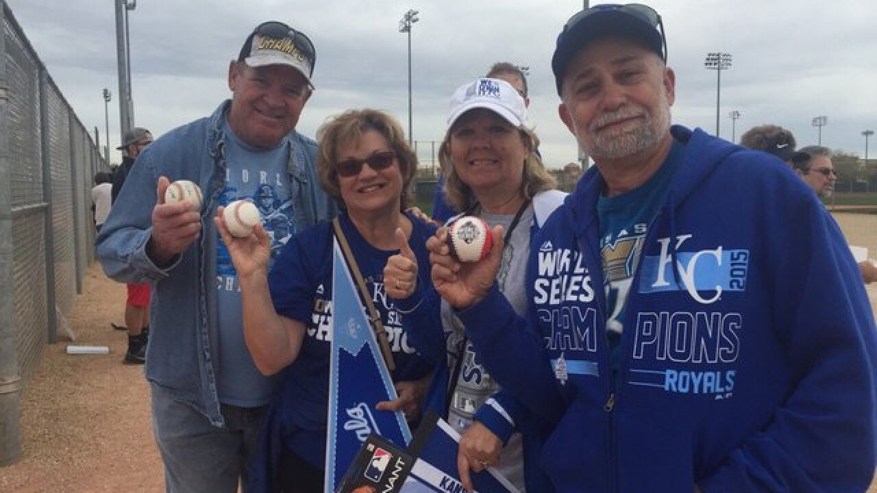 PHOTOS: Royals Spring Training 2016