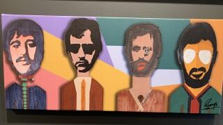 Ringo Starr's art